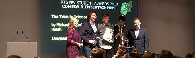 Student Film Wins RTS North West!