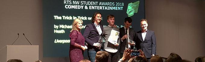 Student Film Wins RTS NorthWest!